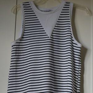 Striped dress.